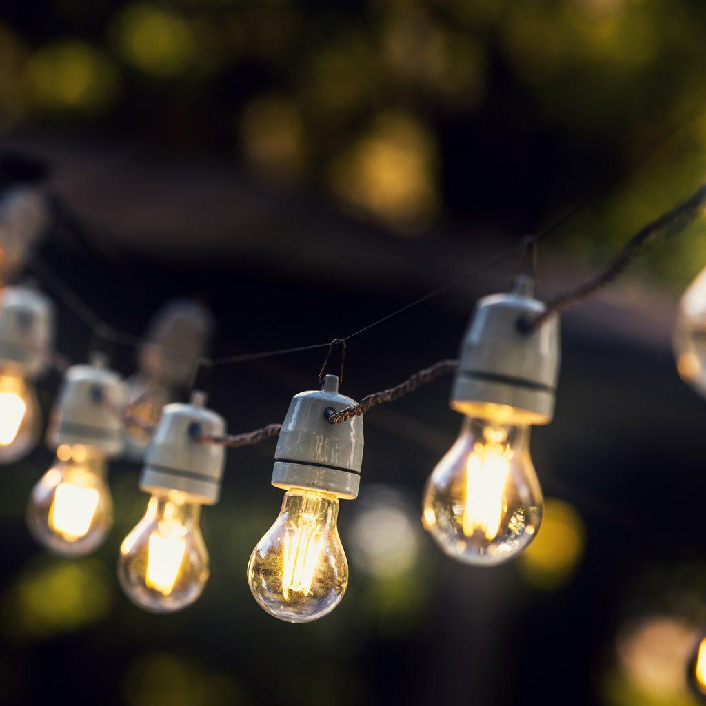 תאורה בגן